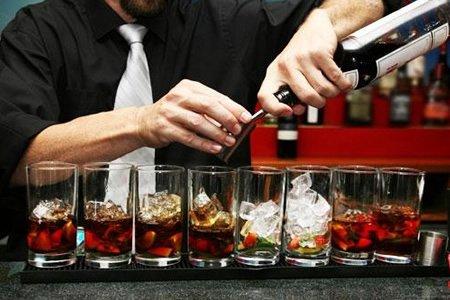 Работа для бармена