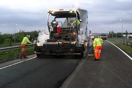Производитель работ (прораб) в строительстве дорог в Европе