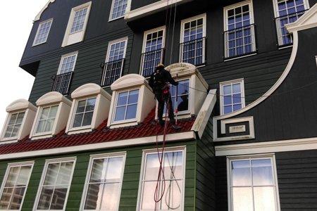 Работа фасадчика в Европе