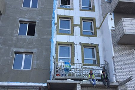 Работа фасадчика (по утеплению) в Литве