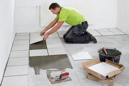 Работа плиточника в Польше