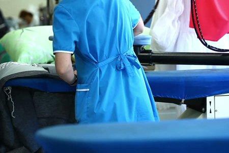 Работник в прачечную во Вьетнам