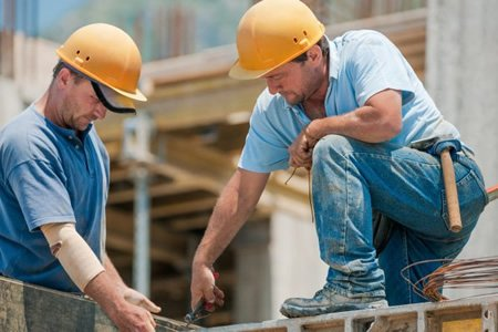 Работа строителя в Польше