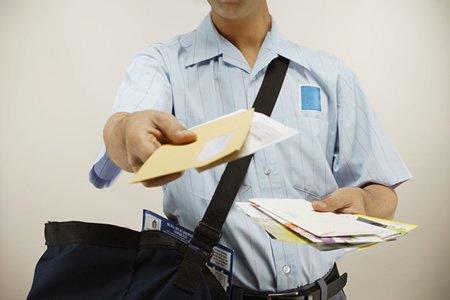 Разнос почты в Чехии