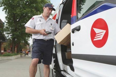 Водитель по развозке почты