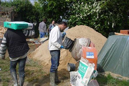 Работа для подсобника на строительство в Латвии