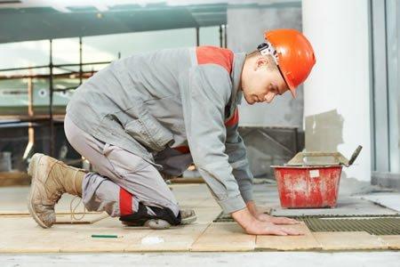 Работа для плиточника на строительство многоэтажного дома в Латвии