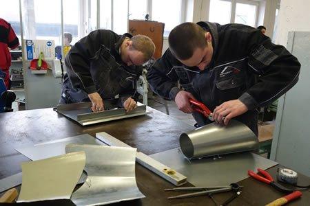 Работа для жестянщыка на производстве в Норвегии