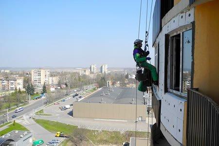 Работа для промышленного альпиниста в Латвии