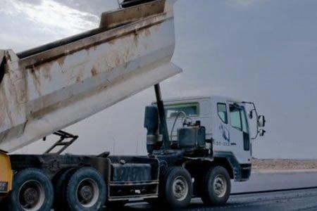Работа для водителя самосвала на строительство дорог в городе Познаь (Польша)