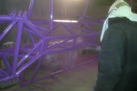 Работа для маляра металлоконструкций в г. Салдус (Латвия)
