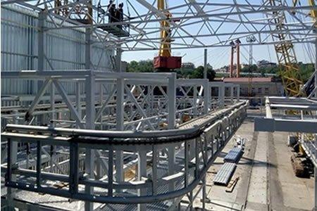 Работа для монтажника металлоконструкций г. Кретинга (Литва)