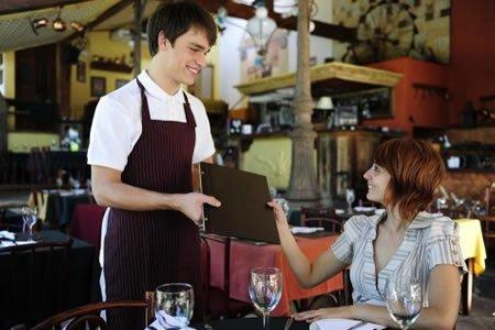 Работа для официанта ресторана в Германии