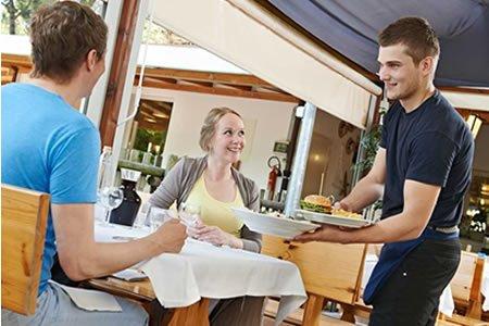 Работа для официанта ресторана