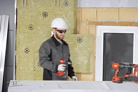 Работа для фасадчика по утеплению и реновации фасадов