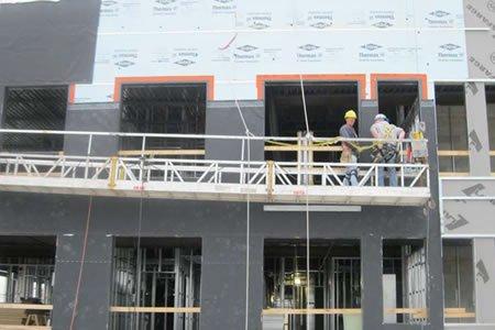 Работа для фасадчика на мокрый фасад