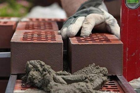 Работа для каменщика на клинкерну кладку