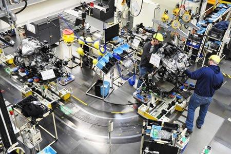 Работа на автозаводе по производству автомобильных запчастей