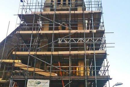Работа для строителя на реставрацию памятных зданий