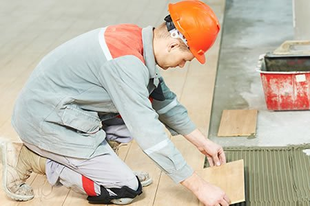 Работа для плиточника по внутренней отделке помещений