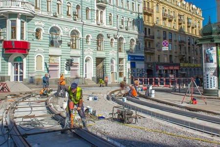 Нужны ремонтники трамвайных путей