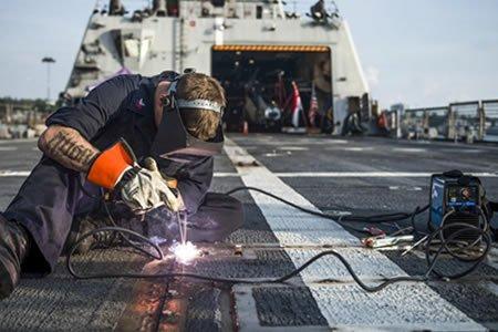 Работа для сварщика судна