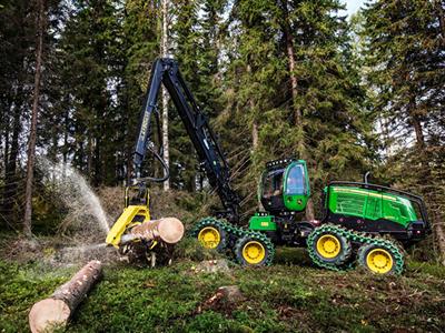 Работа для оператора лесной машины Harvester