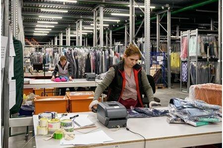Работа на складе брендовой одежды INGRAM