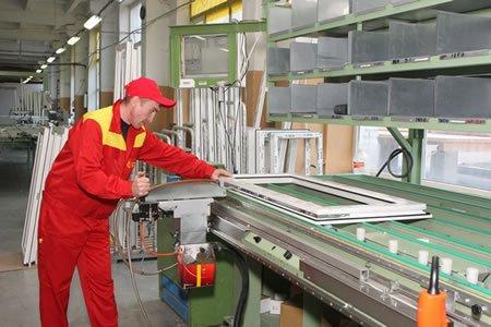 Работа на заводе по изготовлению металлопластиковых окон