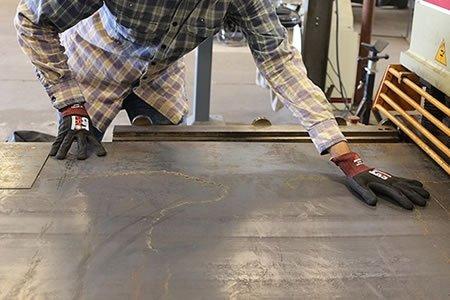 Работа на производстве металлической стружки и волокна