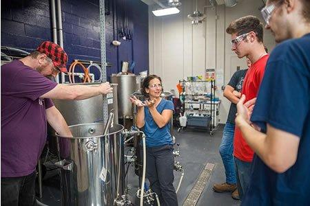 Стажировка для студнтов на пивоваренном заводе