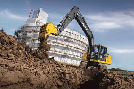 Работа для экскаваторщика на строительном объекте
