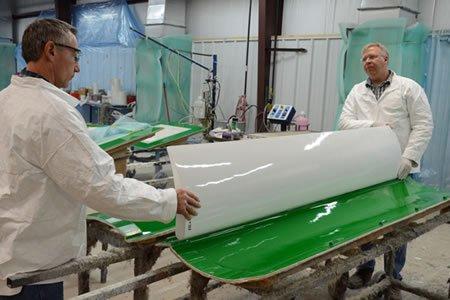 Работа для формовщика стеклопластиковых изделий