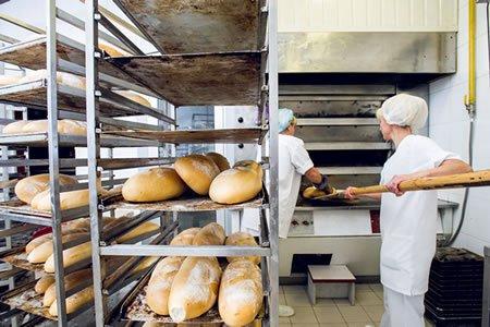 Работа для помощника пекаря