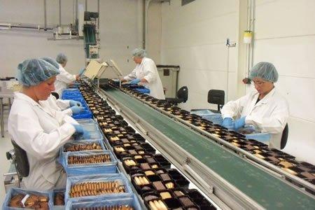 Работа для упаковщика-сборщика печенья на кондитерской фабрике