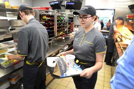 Стажировка для студентов в ''МакДональдс''