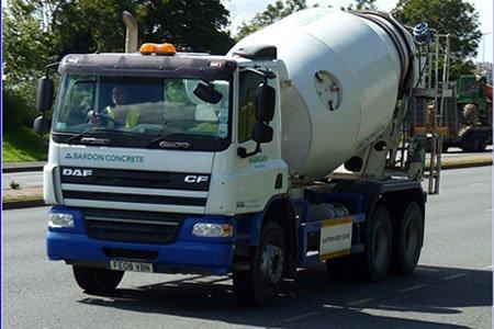 Работа для водителя миксера по доставке бетонна на строительство