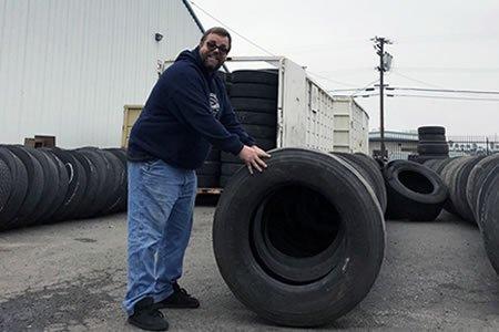 Работа для грузчика легковых и грузовых шин