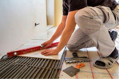 Работа для отделочника-плиточника на отделку и укладку плитки