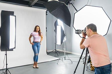 Работа для фотографа в фотостудии
