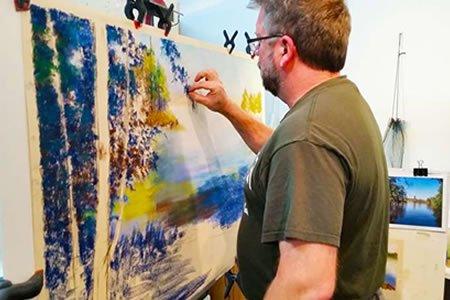 Работа для художника - оформителя в художественной мастерской