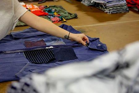 Работа для мастера по ремонту одежды в ателье