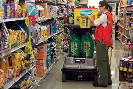 Работа для комплектовщика товаров в супермаркете