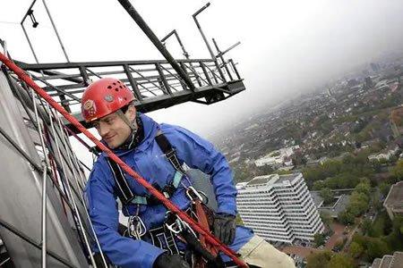 Работа для промышленного альпиниста