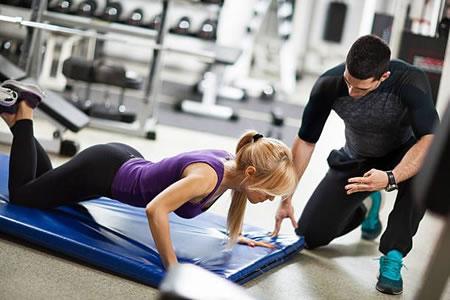 Работа для фитнес-инструктора в фитнес-клубе