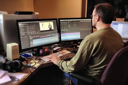 Работа для редактора видео в студии