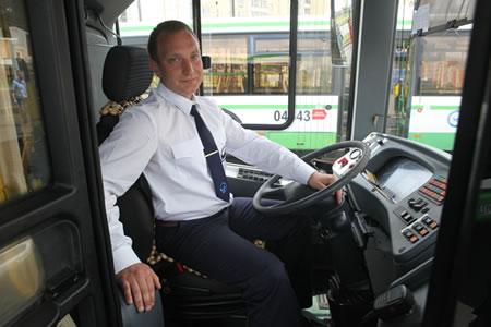 Работа для водителя автобуса по перевозке пасажиров