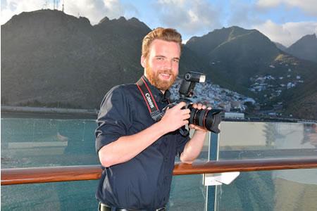 Работа для фотографа на круизных лайнерах