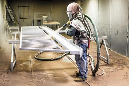 Работа для маляра-пескоструйщика металлоконструкций