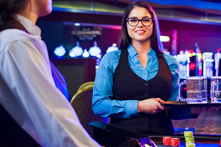 Работа для официанта в казино